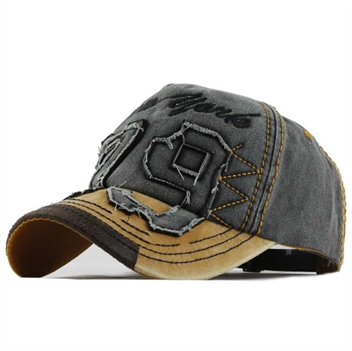 Image of   79 Cap Yellow/Grey