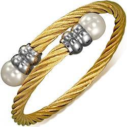 "Image of   Armbånd ""Gold Twist"""