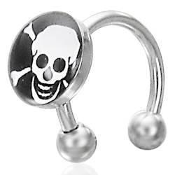 Skull piercing i stål