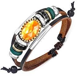 "Fashion armbånd ""Zark"" Læder"