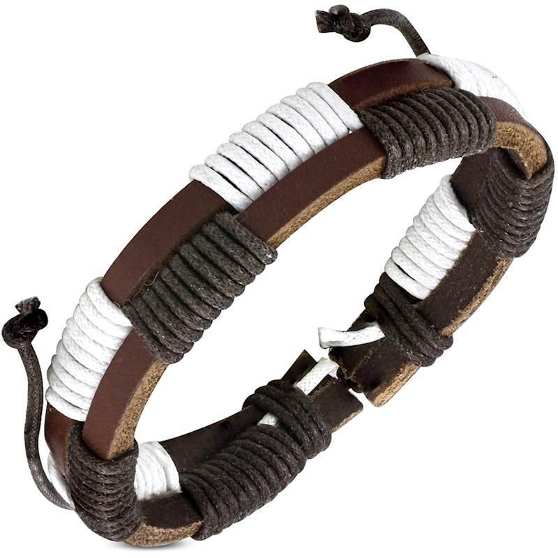 Fashion læderarmbånd.