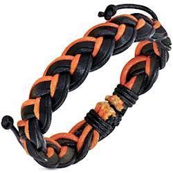 Image of   Armbånd af læderflet