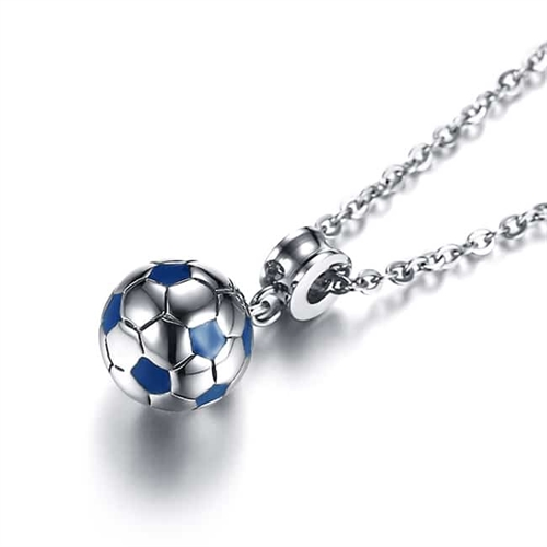 Image of   Fodbold i Rustfrit stål.