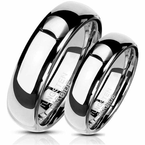 Image of   Tungsten Carbide forlovelsesring