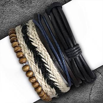 Image of   Fashionarmbånd x 4