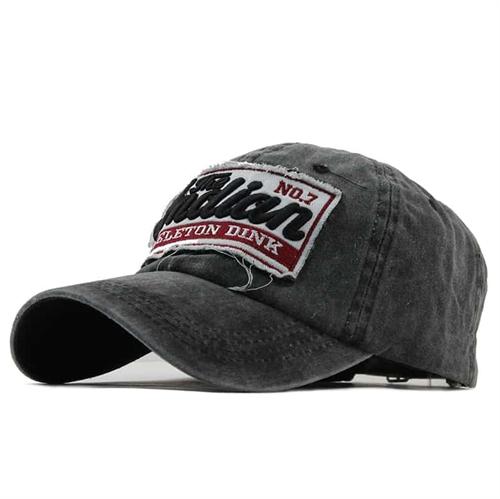 NO7 grey cap