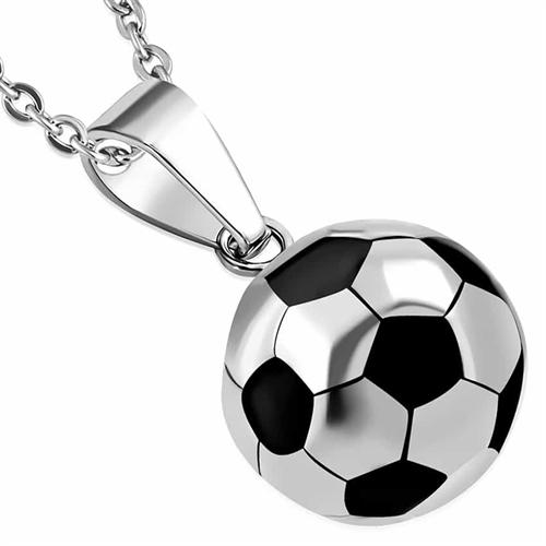 Fodbold i Rustfrit stål Black