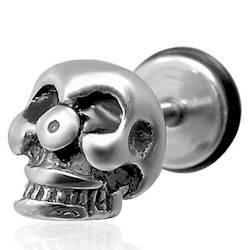 """""""Skull"""" Ørestick. (1 stk)"""