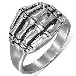 """Herrering """"Skull Hand"""" Steel."""