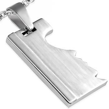 Halssmykke i rustfrit stål (316L)