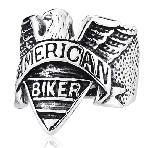 Image of   American biker ring