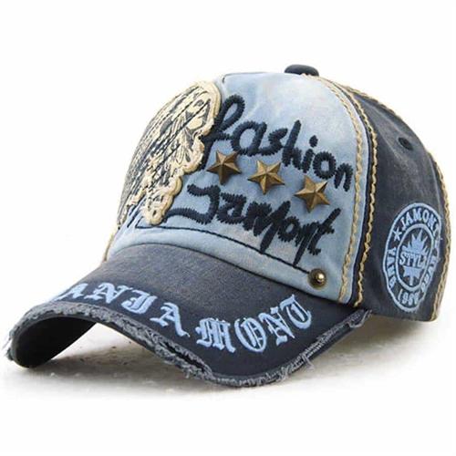 Blue Fashion Jamont Hip Baseball Cap
