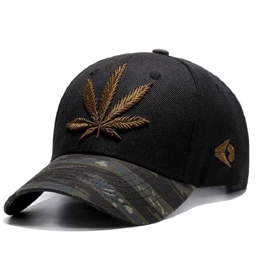 Cap med Cannabis design.