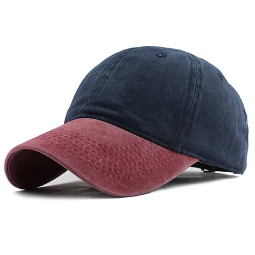 Image of   Navy/Red Caps