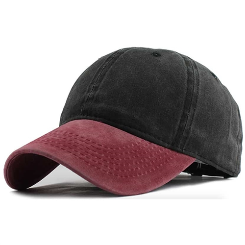 Image of   Red/Black Caps
