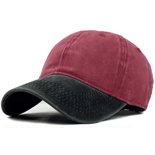 Image of   Black/Red Caps