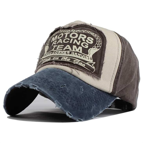 Image of   Blue/Grey Racing team cap