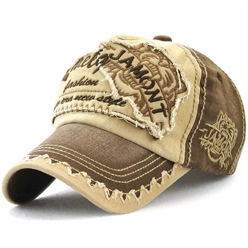 Jamont Hip Baseball cap Golden Brown