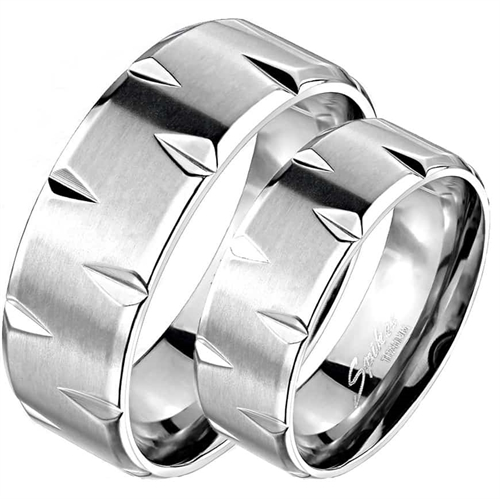 "Image of   ""Titanium"" Design-ring."
