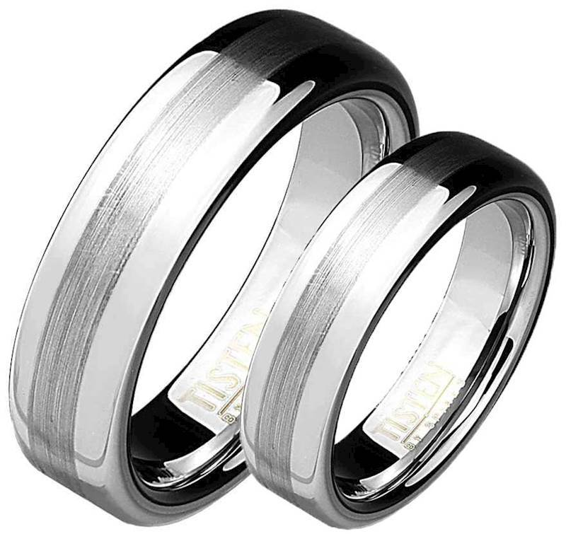 Image of   Tungsten/Titan ring