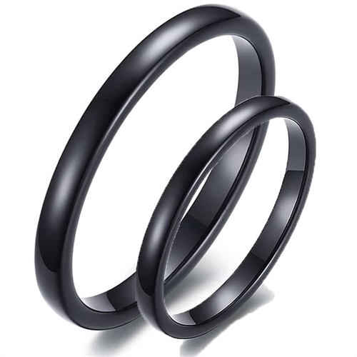 "Image of   Tungsten forlovelsesring ""Black"""