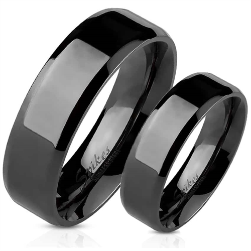 Image of   IP Black forlovelsesring