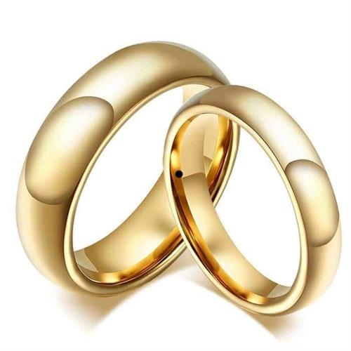 Image of   T8 tungsten forlovelsesringe