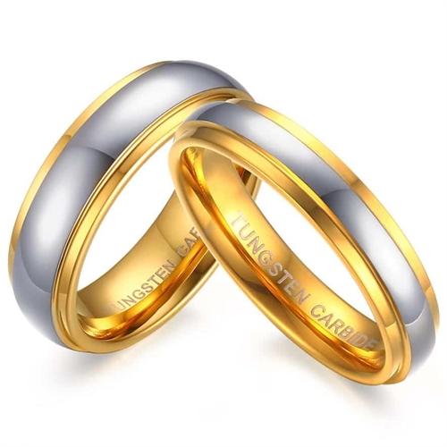 Image of   Kalea forlovelsesring tungsten