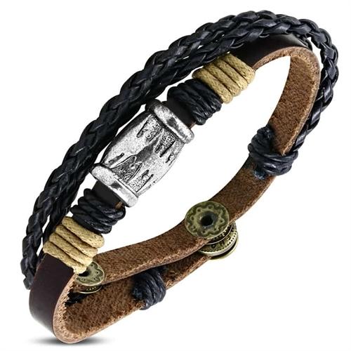 Backyard armbånd i læder