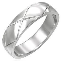 Image of   Classic ring i rustfrit stål.