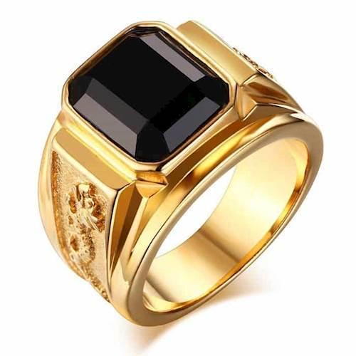 Gylden Drage ring.