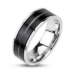 """Image of   """"Ayer"""" Rustfri stål ring."""