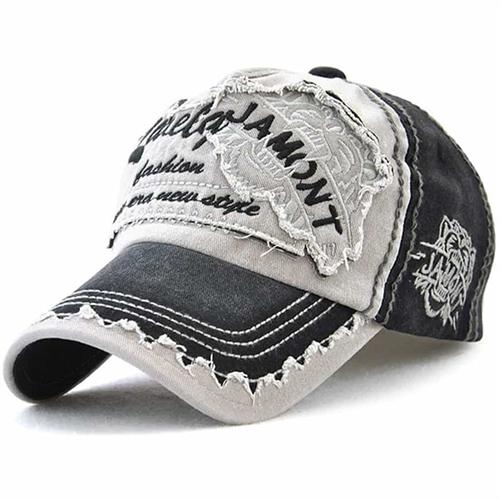 Jamont Hip Baseball cap Black/Grey