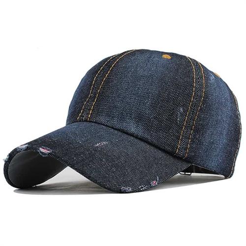 Image of   Denim cap Dark