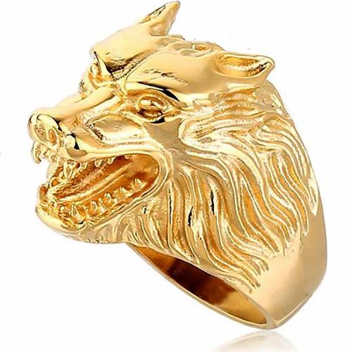 Golden lion herrering/bikerring
