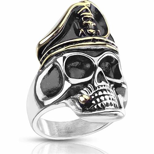 Captain Skull - herrering i stål.