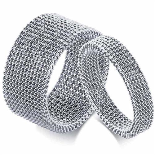 Nett steel forlovelsesring