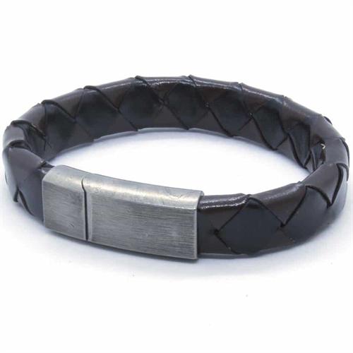 Brown/Black Netri armbånd