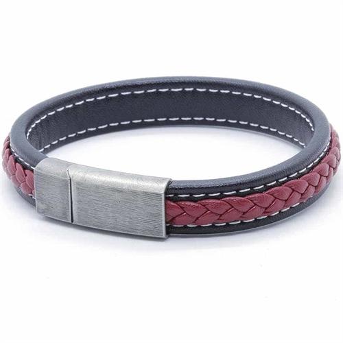 FP Black/Red Netri armbånd