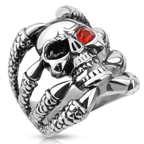 Ugly skull ring