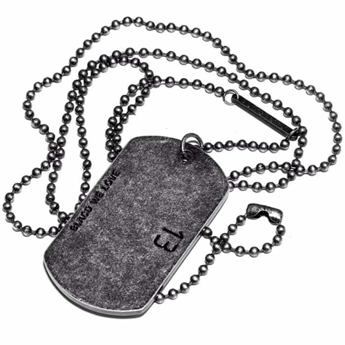 Dogtag 13 oxysteel