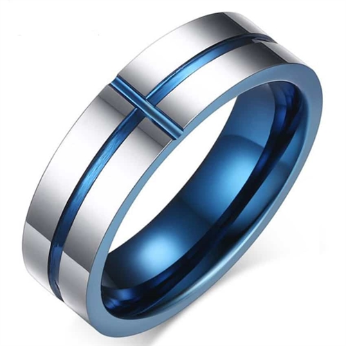 """Image of   """"H3"""" Tungsten Ring 6mm"""